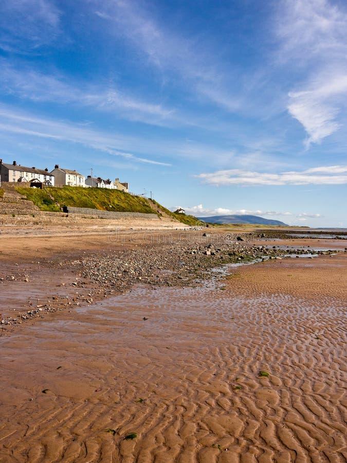 Seascale plaża zdjęcie royalty free