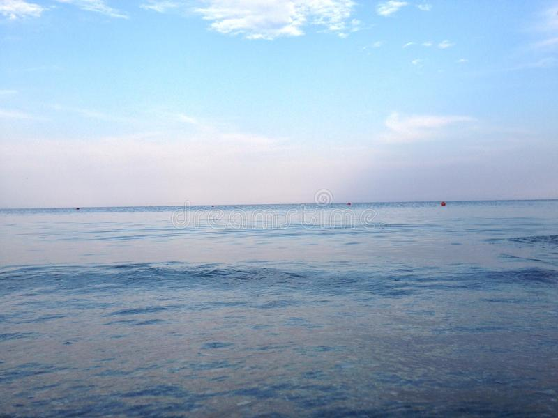Seascape από τη Μαύρη Θάλασσα στοκ φωτογραφία με δικαίωμα ελεύθερης χρήσης