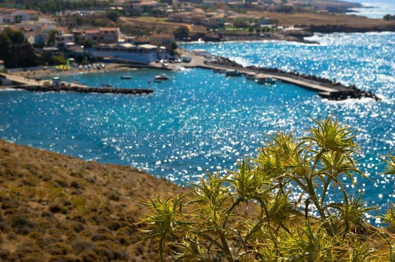 Seascape Κρήτη, Ελλάδα στοκ εικόνες με δικαίωμα ελεύθερης χρήσης