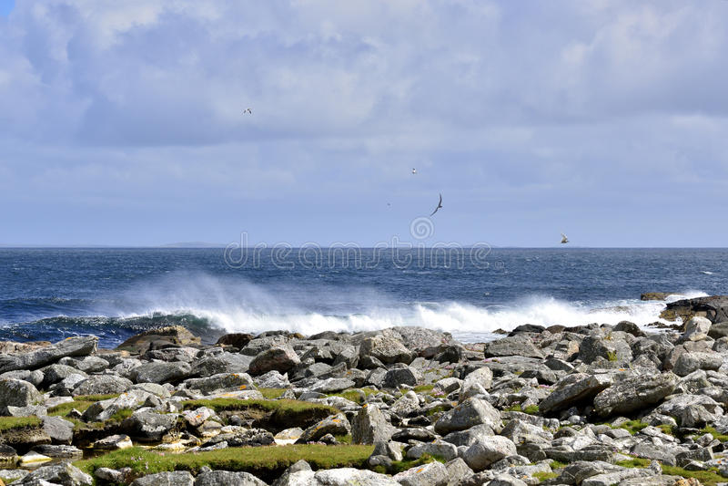 Seascape νησιών στοκ φωτογραφία με δικαίωμα ελεύθερης χρήσης