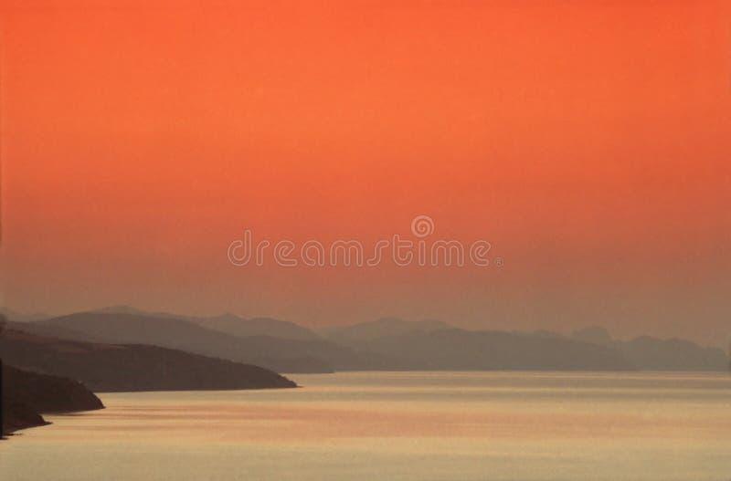 seascape πρωινού στοκ φωτογραφία με δικαίωμα ελεύθερης χρήσης