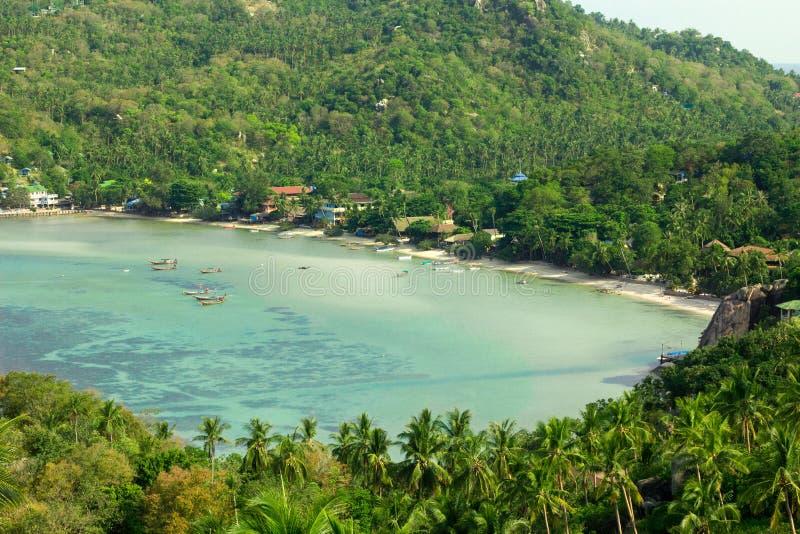 Seascape στη μέγιστη άποψη Koh Tao στοκ φωτογραφία με δικαίωμα ελεύθερης χρήσης