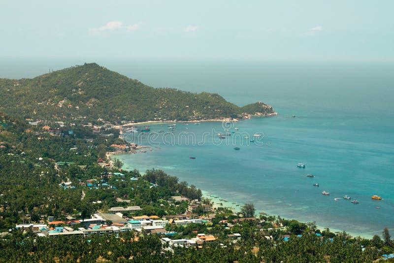 Seascape στη μέγιστη άποψη Koh Tao στοκ εικόνα με δικαίωμα ελεύθερης χρήσης