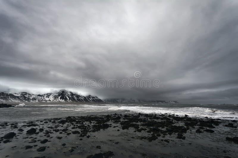 Seascape στη δυτική Ισλανδία στοκ εικόνες