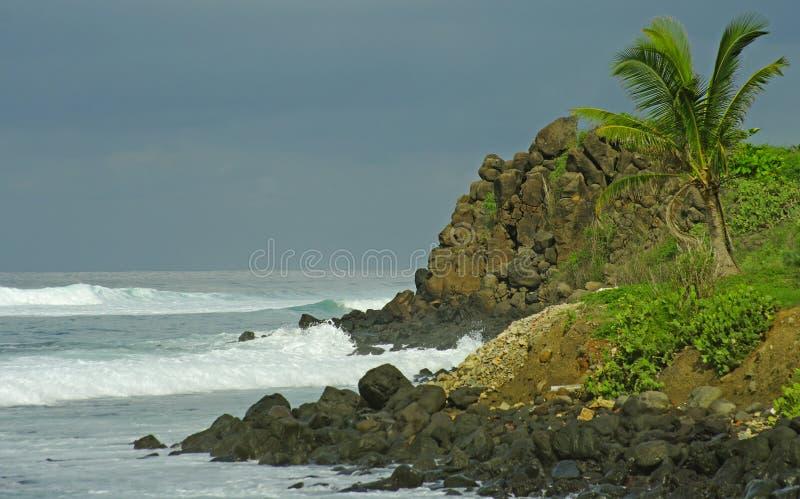 seascape της Αφρικής δύση στοκ εικόνα με δικαίωμα ελεύθερης χρήσης