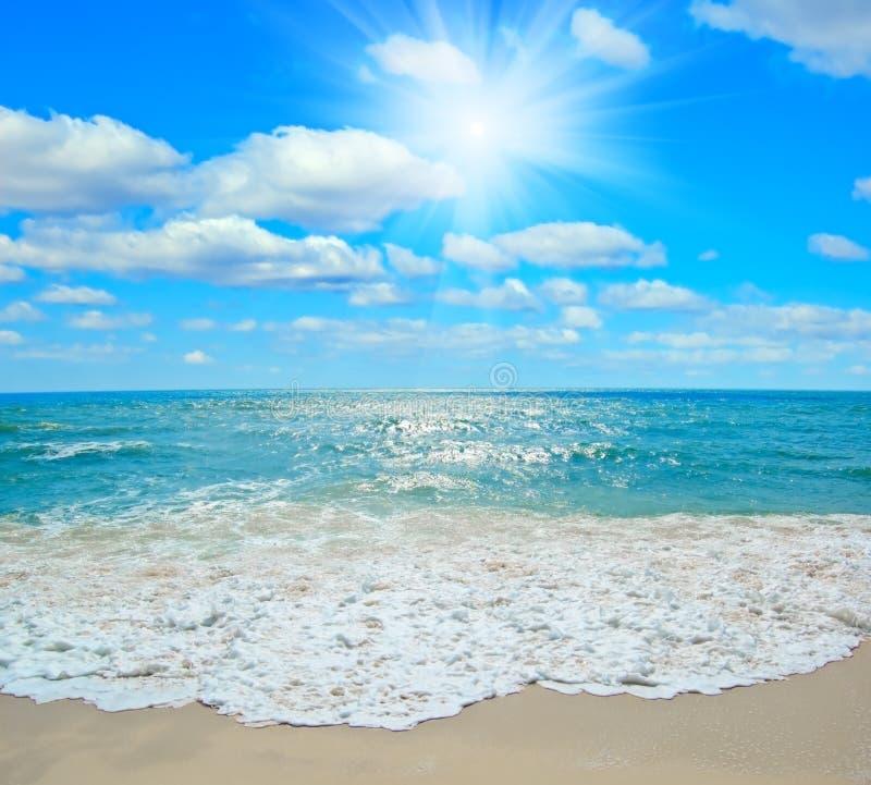 seascape τροπικό στοκ φωτογραφία