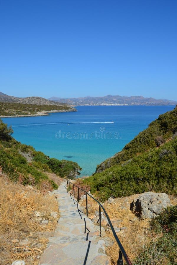 Seascape, Греция стоковая фотография