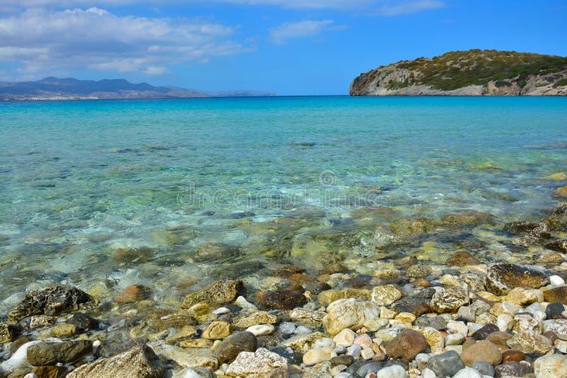 Seascape, Греция стоковые фотографии rf