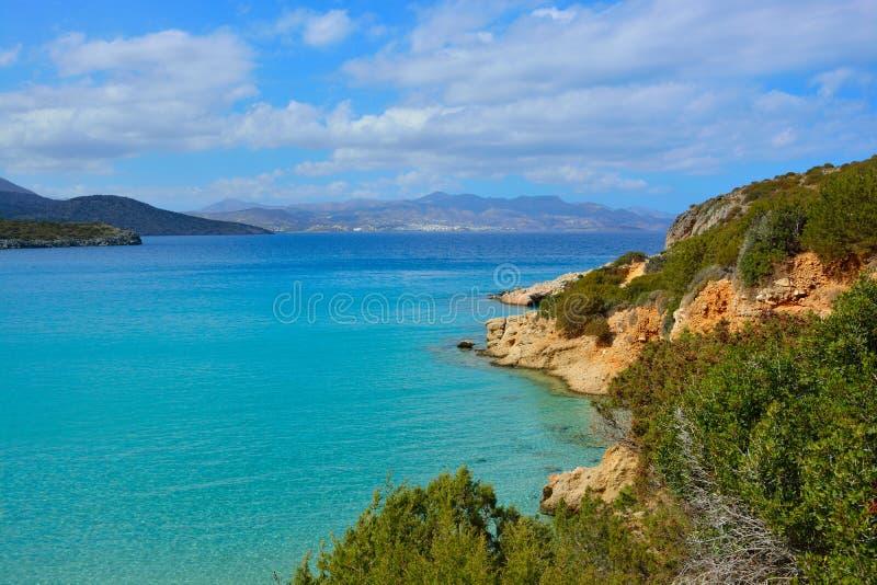 Seascape, Крит стоковые изображения rf