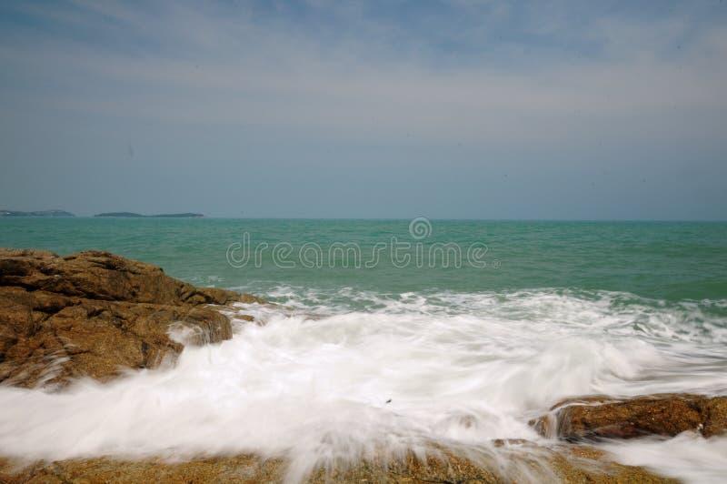Seascape на летний день стоковое фото