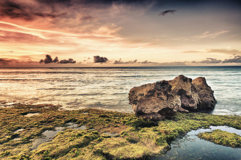 Download Seascape stock image. Image of scenic, fantasy, cloud - 19118899