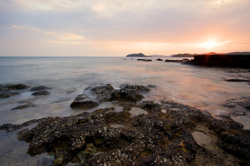 Download Seascape stock photo. Image of lens, background, dawn - 19321234