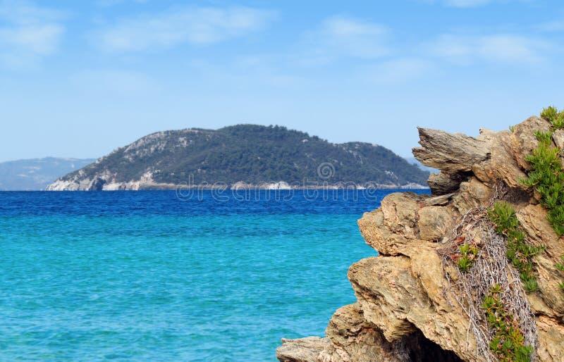Download Seascape stock photo. Image of coast, island, greece - 23525090