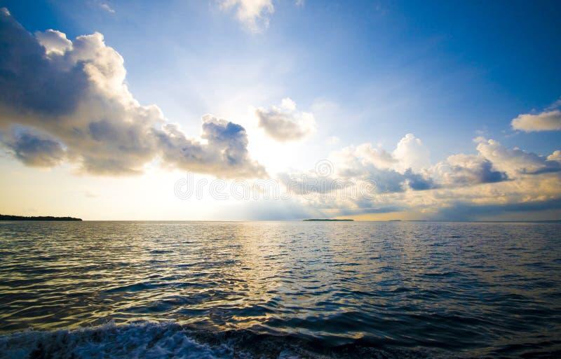 Seascape imagem de stock