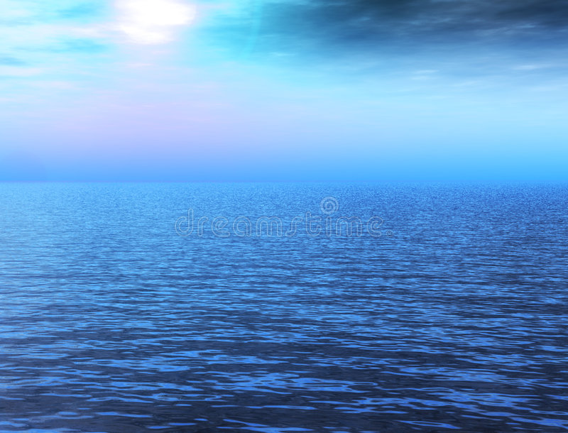 Download Seascape stock photo. Image of seascape, cloud, outdoor - 4446818