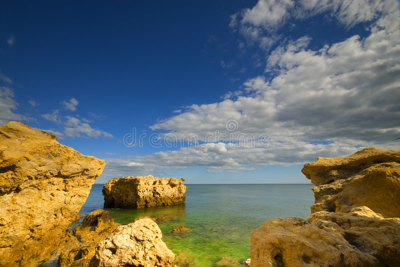 Seascape royalty free stock photography
