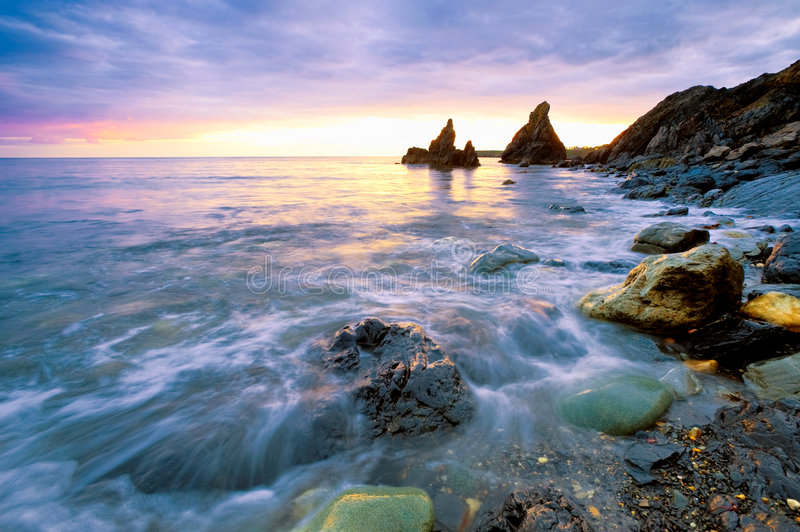 Seascape imagens de stock royalty free