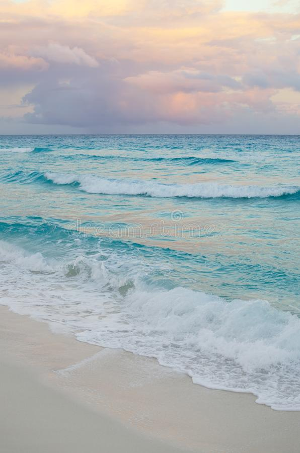 Free Seascape At Pinkish Sunset - Natural Background Royalty Free Stock Images - 104872189