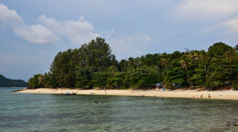 Seascape av den Phuket ?n, Thailand arkivfoto