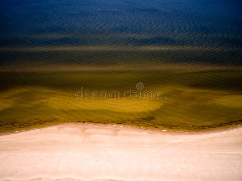 Seascape av det baltiska havet arkivbild