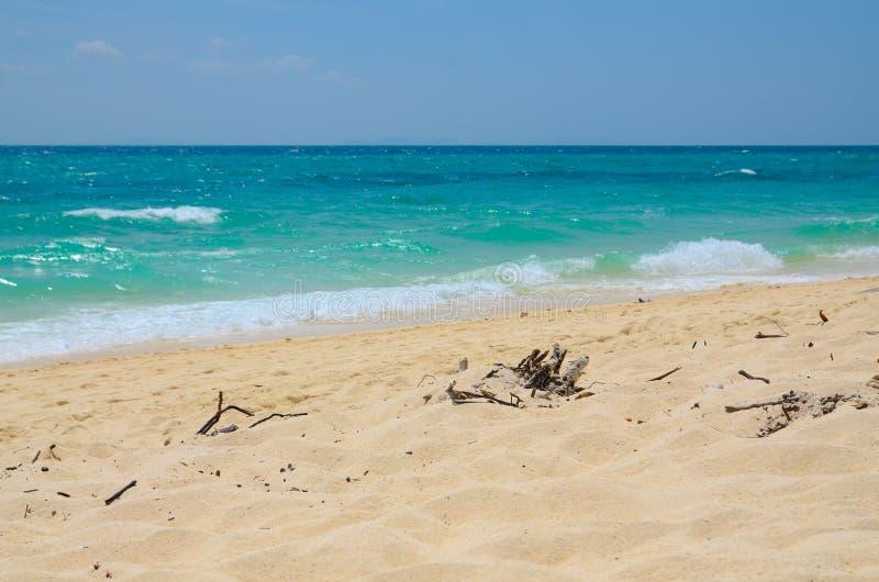 Seascape of the Bamboo island, Thailand royalty free stock photos
