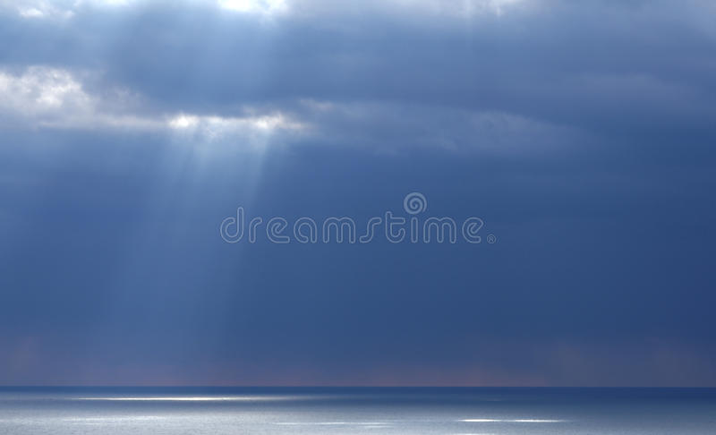 Download Seascape in blue tones. stock image. Image of marine - 25385763
