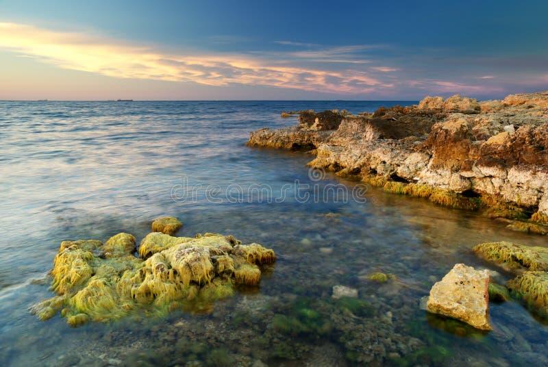 Seascape bonito fotos de stock