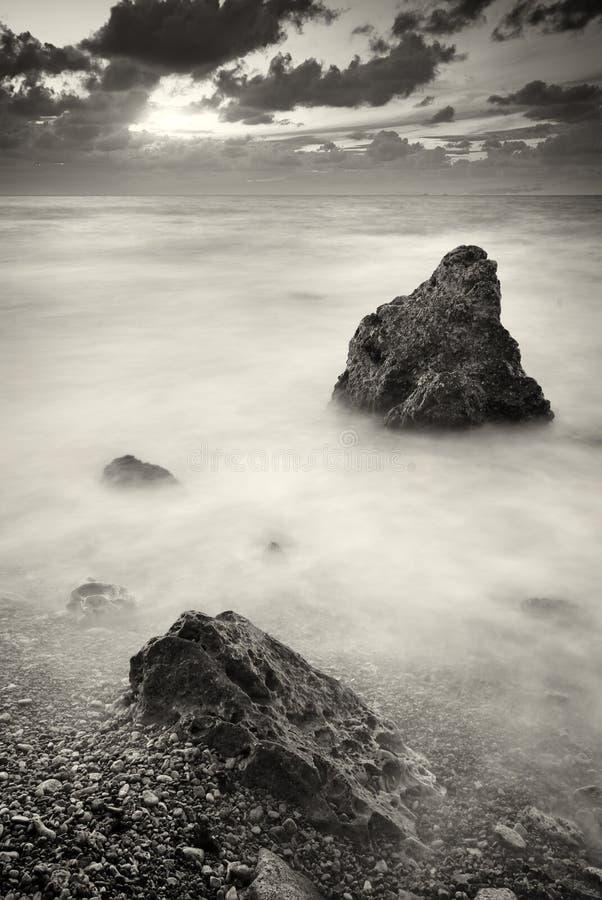 Seascape bonito fotografia de stock