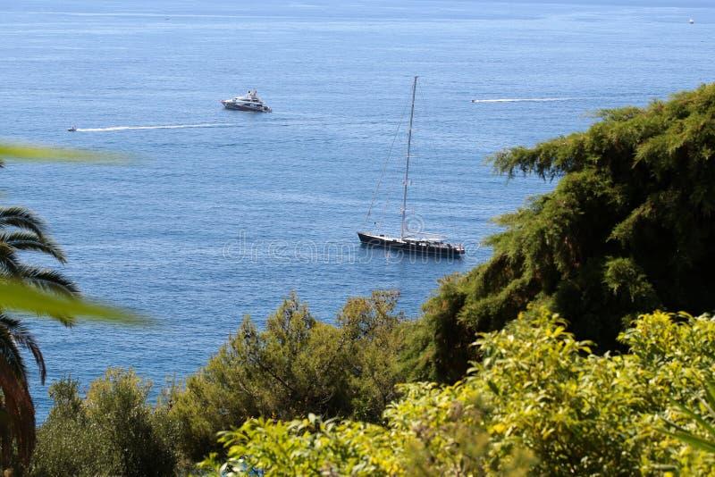 Seascape bonito do verão imagem de stock