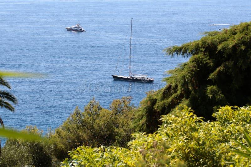 Seascape bonito do verão foto de stock