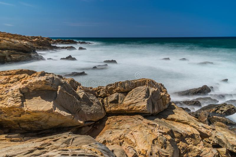 Seascape Crete, Greece royalty free stock image