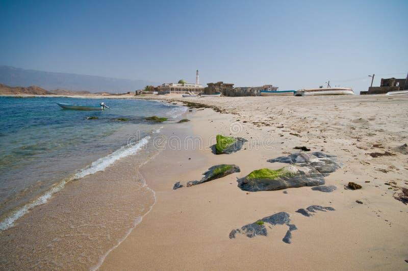 Seascape de Merbat imagem de stock royalty free