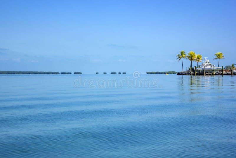 Seascape. Florida Keys low tide bay royalty free stock photo