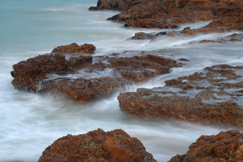 Seascape litoral fotografia de stock royalty free