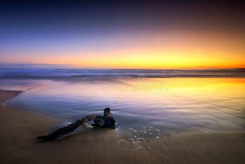 Seascape Mínimo Imagens de Stock