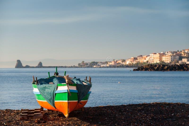 Seascape mediterrâneo fotografia de stock
