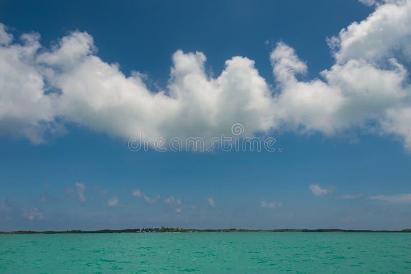 Seascape, Mexican oceans and sky stock photos