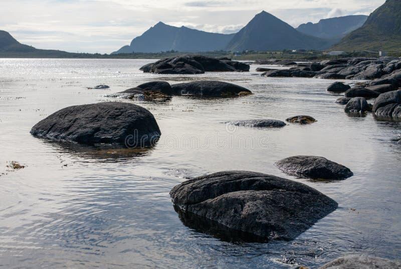 Seascape norueguês imagens de stock royalty free
