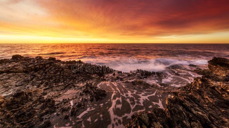 Sunrise st jean cap ferrat lever de soleil royalty free stock photo
