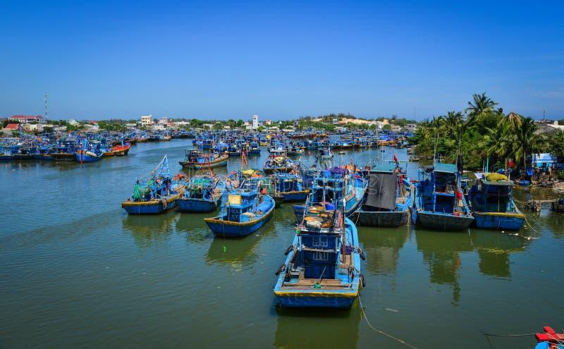 Seascape Phan Thiet, Południowy Wietnam zdjęcie stock