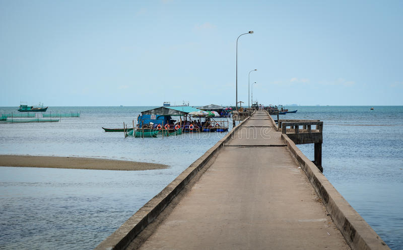 Seascape Phu Quoc wyspa, Wietnam zdjęcia stock