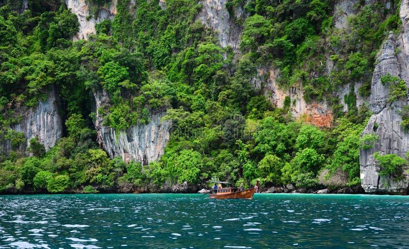 Seascape of Phuket Island, Thailand stock images