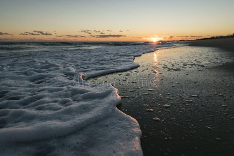 Seascape in Rhode Island stock photo