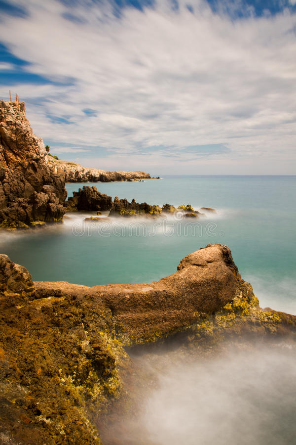 Seascape On The Riviera Stock Photography