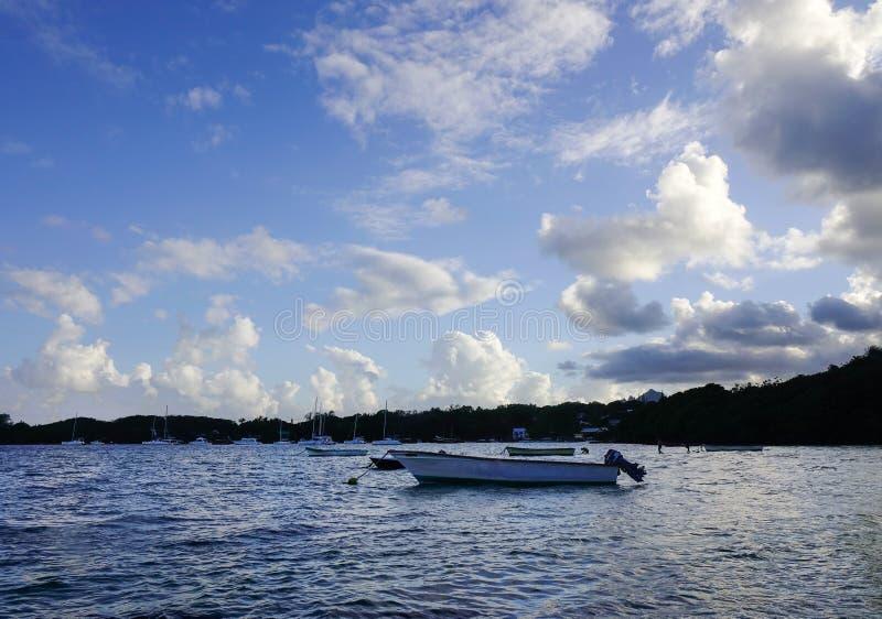 Seascape Uroczysty Baie, Mauritius obraz royalty free