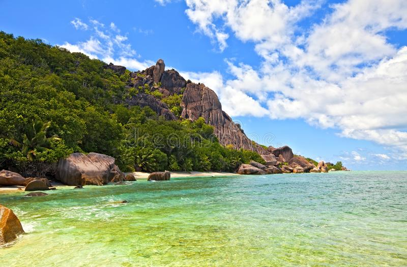 Download Seascape view stock photo. Image of paradise, coast, picturesque - 23357782