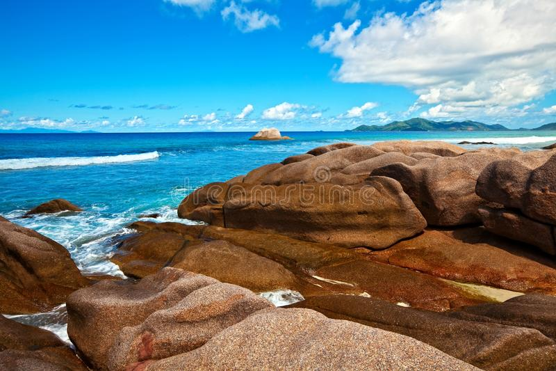 Download Seascape view stock photo. Image of equator, blue, resort - 23357794