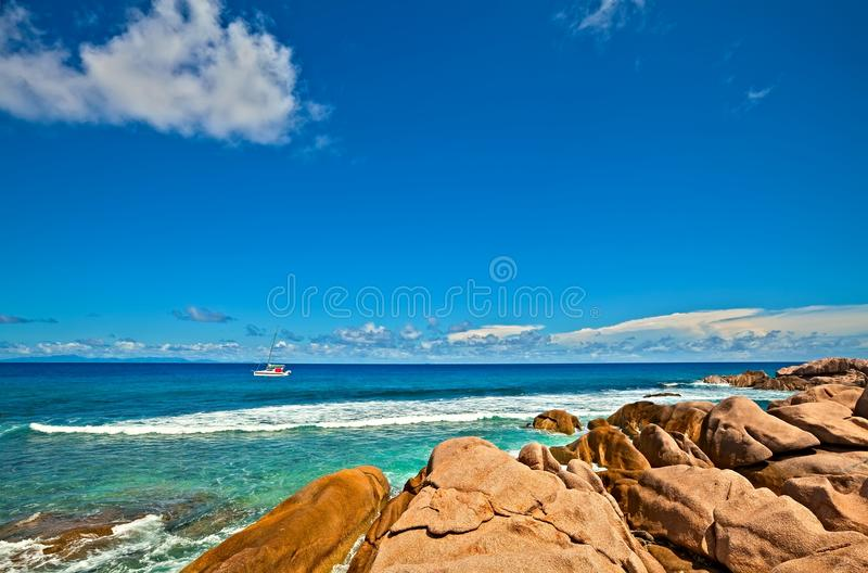 Download Seascape view stock image. Image of resort, picturesque - 23568029