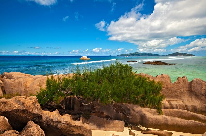 Download Seascape view stock photo. Image of sphere, anse, hill - 23650864