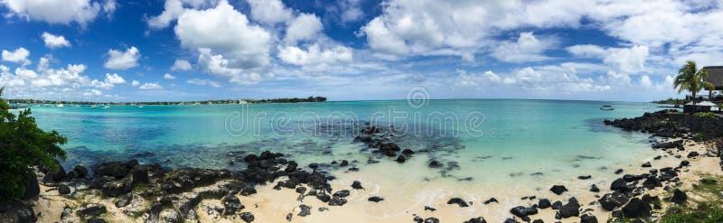 Seascape w Uroczystym Baie, Mauritius obraz royalty free